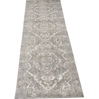 Norwood Gray Area Rug Rug Size: Runner 22 x 77
