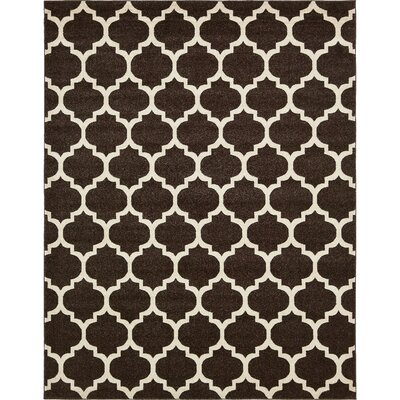 Moore Brown Area Rug Rug Size: Rectangle 7 x 10