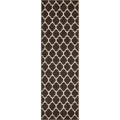 Moore Brown Area Rug Rug Size: Runner 2' x 6'