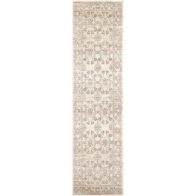 Shailene Ivory Area Rug Rug Size: Runner 27 x 10