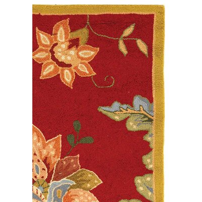 Helena Floral Area Rug Rug Size: Rectangle 26 x 4