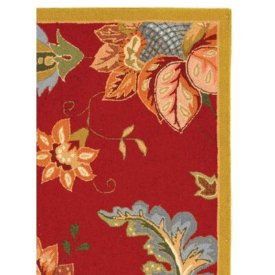 Helena Floral Area Rug Rug Size: Rectangle 39 x 59