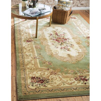 Patton Green Area Rug Rug Size: Rectangle 5 x 8