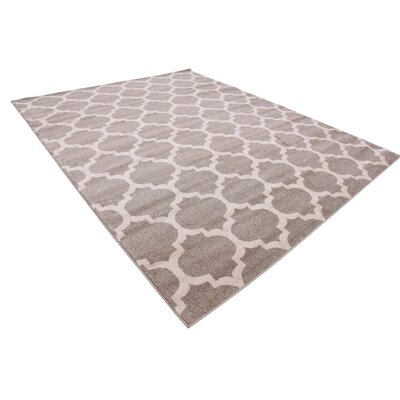 Moore Tan Area Rug Rug Size: Rectangle 8 x 10