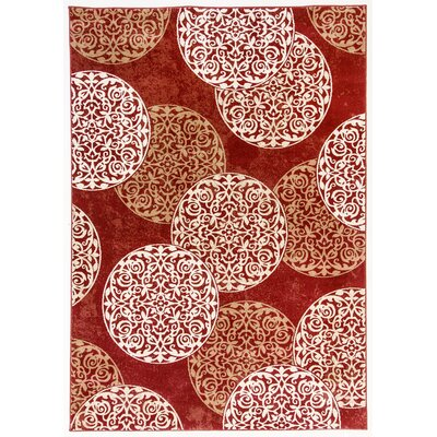 Morocco Red Area Rug Rug Size: Rectangle 2 x 37