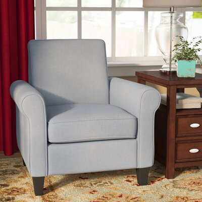 Conrad Armchair Upholstery: Light Gray
