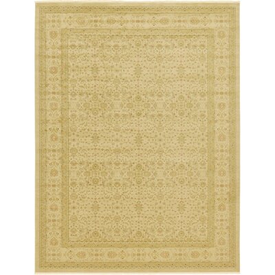 Willow Beige Area Rug Rug Size: Round 8