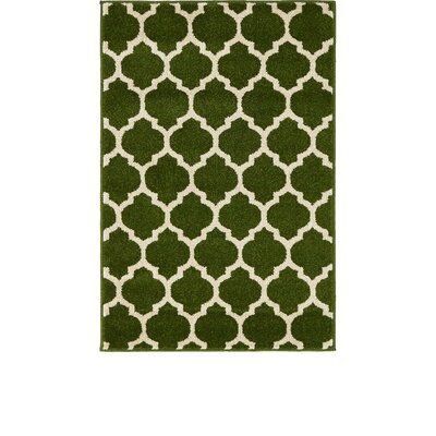 Moore Green/Beige Area Rug Rug Size: Rectangle 22 x 3