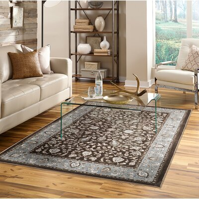 Millstone Brown/Gray Area Rug Rug Size: Rectangle 8 x 10