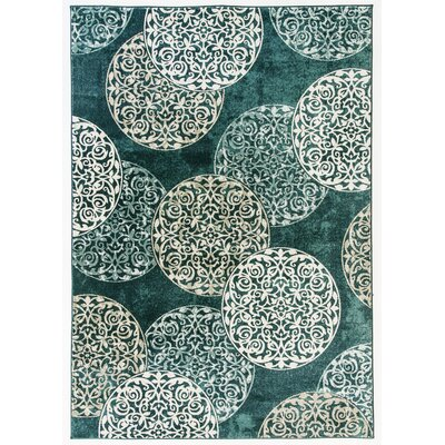 Morocco Blue Area Rug Rug Size: Rectangle 710 x 1010