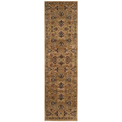 Lowe Beige/Brown Area Rug Rug Size: Runner 23 x 8