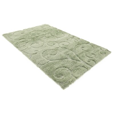 Archer Lane Floral Green Area Rug Rug Size: Runner 27 x 10
