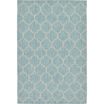 Downtown West Village Orange/Blue Area Rug Rug Size: Runner 22 x 6