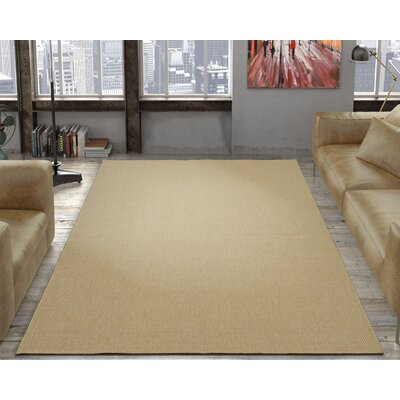 Chapman Cream Indoor/Outdoor Area Rug Rug Size: 53 x 73