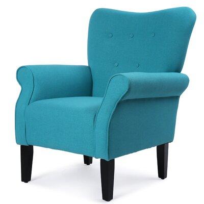 Naumann Leg Armchair Upholstery: Mallard Teal