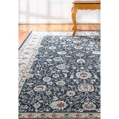 Morocco Anthracite Area Rug Rug Size: Rectangle 5'3