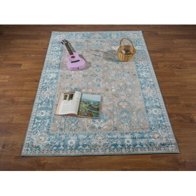 Hatfield Brown Area Rug Rug Size: Rectangle 53 x 76