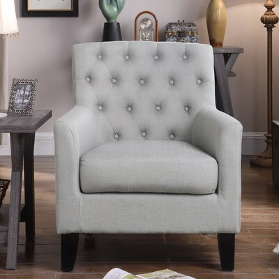 Goodfield Armchair Upholstery: Grey