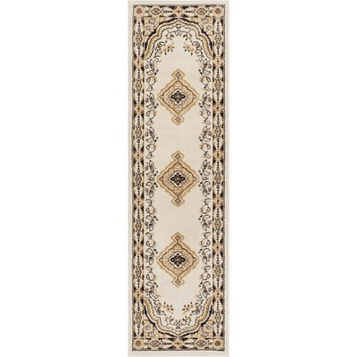 Bungalow Ivory Area Rug Rug Size: Runner 2 x 72