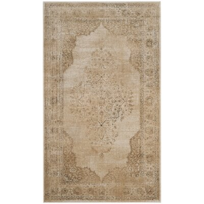 Parkmead Cream Area Rug Rug Size: Rectangle 33 x 57