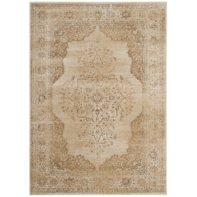 Parkmead Cream Area Rug Rug Size: Rectangle 4 x 57