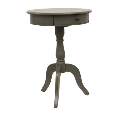 Wedgewood End Table Color: Eased edge gray