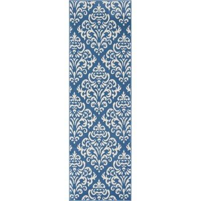 Bolivia Blue Area Rug Rug Size: Runner 23 x 76