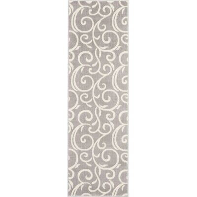 Susan Gray Area Rug Rug Size: Runner 23 x 76
