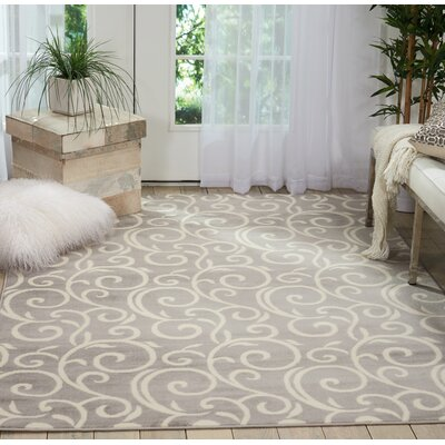 Susan Gray Area Rug Rug Size: Rectangle�53 x 73