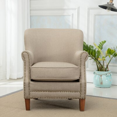 Corby Armchair Upholstery: Taupe