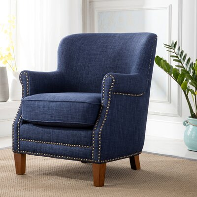 Corby Armchair Upholstery: Navy