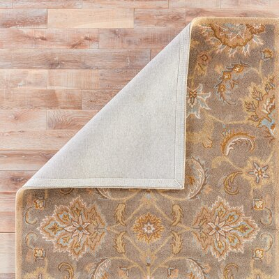 Thornhill Gray/Tan Area Rug Rug Size: Rectangle 5 x 8