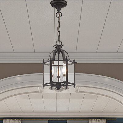Claysburg 3-Light Convertible Indoor Foyer Pendant