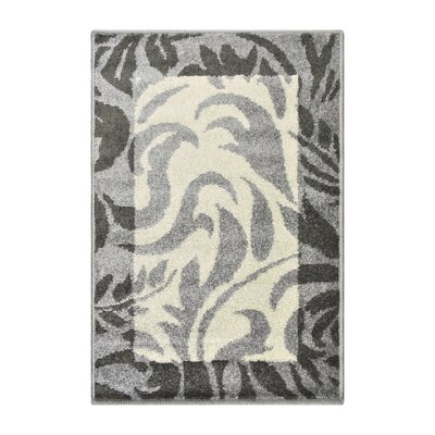 Camillus Gray Area Rug Rug Size: Rectangle 2 x 3