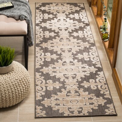 Bryan Taupe Area Rug Rug Size: Runner 23 x 8