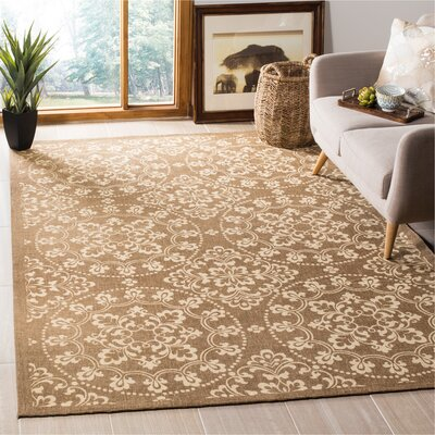 Charing Cross Hand-Loomed Taupe / Natural Area Rug Rug Size: Rectangle 6 x 9