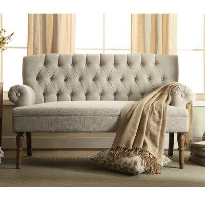 Barryknoll Standard Settee Upholstery: Beige