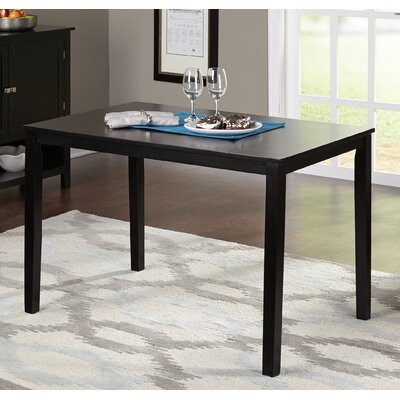 Bushman Dining Table Color: Black