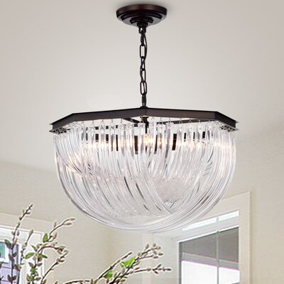 Fincastle 4-Light Bowl Pendant