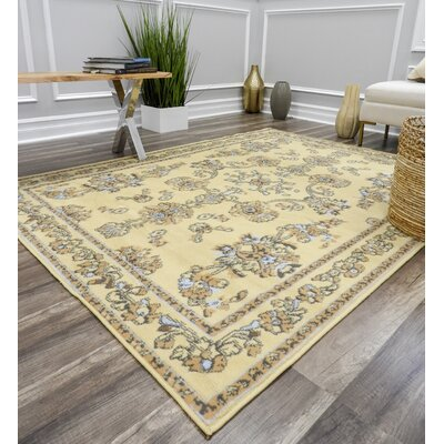 Bartlet Ivory Area Rug Rug Size: Rectangle 8 x 10