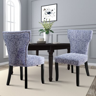 Almondsbury Upholstered Dining Chair Upholstery: Gray