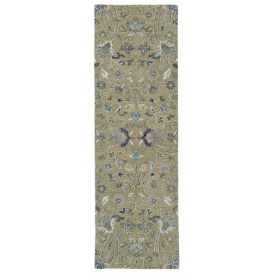 Casper Light Brown Area Rug Rug Size: Runner 26 x 8