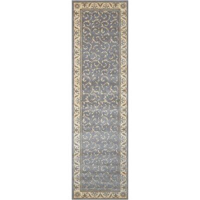Roscoe Silver Area Rug Rug Size: Runner 23 x 8