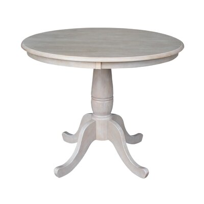 Doylan Dining Table Size: 30, Color: Weathered Gray