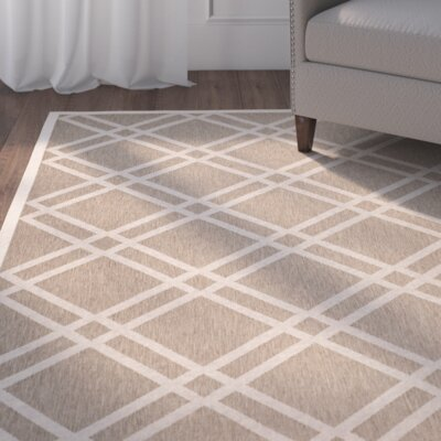 Octavius Brown Indoor/Outdoor Area Rug Rug Size: Rectangle 53 x 77