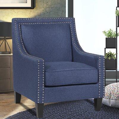 Trefethen Armchair Upholstery: Blue