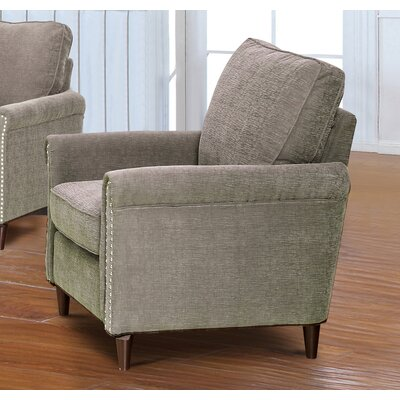 Haytonn Fabric Modern Living Room Armchair