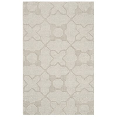 Opal Modern Silver Area Rug Rug Size: Rectangle 3 x 5