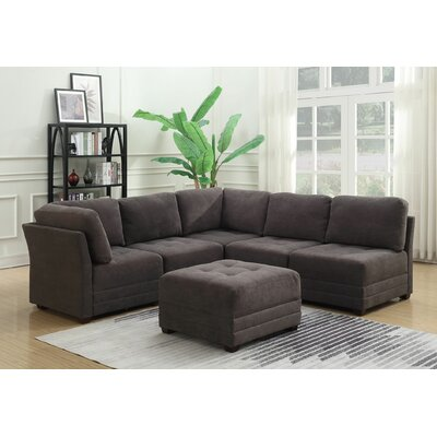 Hutcheson  Modular 6 Piece Sectional