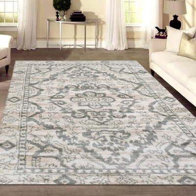 Norwood Bone Area Rug Rug Size: Rectangle 33 x 411
